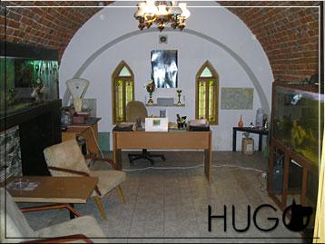 Recepce hotelu Hugo
